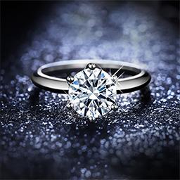 白金钻石戒指怎么清洗?