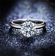 白金钻石戒指怎么清洗?这两种清洗方法你可以试试。