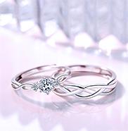 结婚戒指戴哪个手指?男生和女生是有区别的。