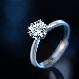 钻石戒指如何清洗?